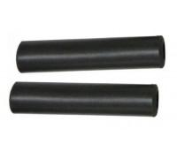 Ручки руля Velo VLG-1749A силікон чорний 130 мм