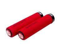Ручки руля Sram LOCKING FOAM красно-черные