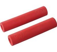 Ручки руля PRO Slide On Race 32x130 мм красный