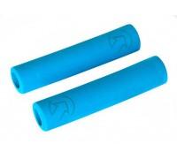 Ручки руля PRO Slide On Race 32x130 мм синий