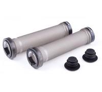 Ручки руля FireEye Stripper No.2 140 мм з замками прозоро-сірий