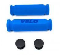 Ручки руля Velo VLG075A 117 мм блакитний