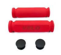 Ручки руля Velo VLG075A 117 мм червоний