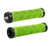 Грипсы ODI Cross Trainer MTB Lock-On Bonus Pack Lime Green w/Black Clamps