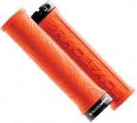 Ручки руля RaceFace Half nelson, w/lock помаранчевий