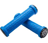 Ручки руля RaceFace Grippler, lock on 33 MM блакитний