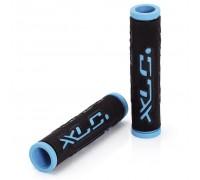 Грипсы XLC GR-G07 'Dual Colour', черно-голубые, 125мм