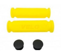 Ручки руля Velo VLG075A 117 мм жовтий