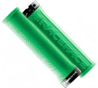 Ручки руля RaceFace HALF NELSON W/LOCK зелений