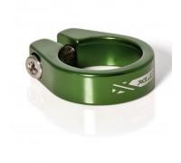 Хомут XLC PC-B05, Ø31,8мм, зеленый