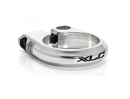 Хомут XLC PC-B01, Ø34,9мм, серебристый | Veloparts