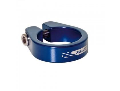 Хомут XLC PC-B05, Ø34,9мм, синий | Veloparts