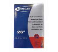 Камера Schwalbe SV12B 26-27.5˝x3 / 4-1.10˝ (20 / 25-584 / 590) FV 40мм (для візків)
