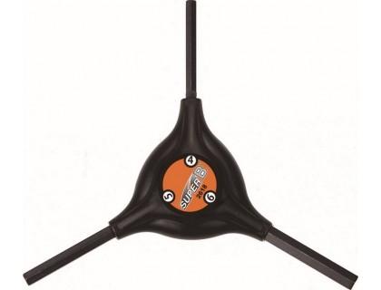 Ключ-шестигранник SuperB Y-подібний 4/5/6 мм | Veloparts