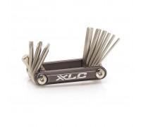 Набор шестигранников XLC TO-MT03, 10 функций, серебристый