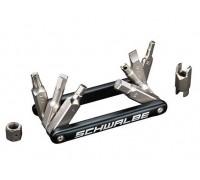 Мультитул Schwalbe - 3,4,5,6,8mm, шліцевий T25, ключ для ніпеля SV, подовжувач ніпеля SV,