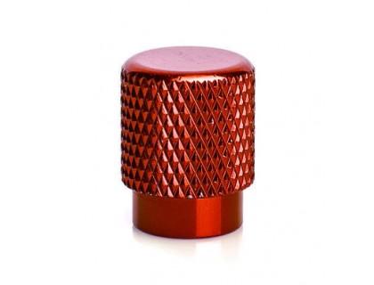 Ковпачок на ніпель ONRIDE (AV/SV - Auto Valve / Schrader Valve) червоний | Veloparts