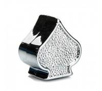Ковпачок на ніпель ONRIDE Піка (AV/SV - Auto Valve / Schrader Valve) сріблястий