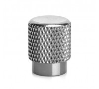 Ковпачок на ніпель ONRIDE (AV/SV - Auto Valve / Schrader Valve) сріблястий