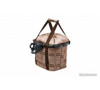Кошик-сумка KLS Shopper на кермо велосипеда коричневий