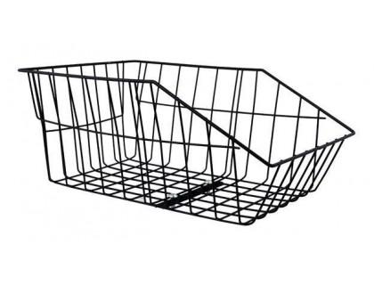 Корзина Longus с креплением на багажник металлическая сетка | Veloparts