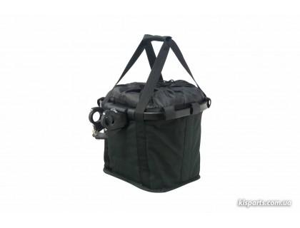 Кошик-сумка KLS Shopper на кермо велосипеда чорний | Veloparts