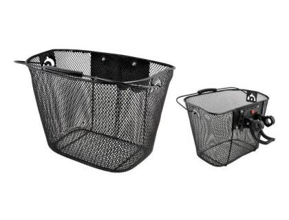 Корзина на руль Longus Basket Fe QR 25.4 мм | Veloparts