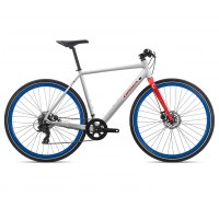 Велосипед Orbea CARPE 40 M [2019] White - Red (J42053QP)