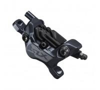 Каліпер гідравл диск гальм BR-M7120 SLX, монтаж РМ160мм, колодка N03A / Fin полімер