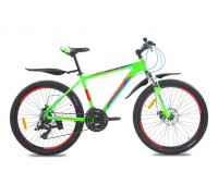 "Велосипед алюминий Premier Galaxy 26 Disc 17"" matt neon green"
