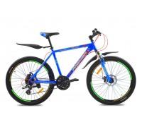 "Велосипед алюминий Premier Tsunami 26 Disc 19"" matt neon blue"