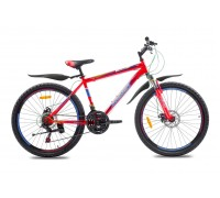 "Велосипед сталь Premier Captain 26 Disc 17"" matt red"