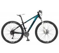 Велосипед KHS SIXFIFTY 500 Lady Matte Black/ Blue S