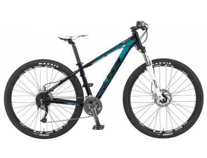 SIXFIFTY 500 Lady Matte Black/ Blue S | Veloparts