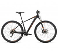 Велосипед Orbea MX 27 MAX 18 M Black-Orange