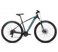 Велосипед Orbea MX 27 60 S [2019] Black - Turquoise - Red (J20015R3)