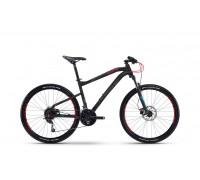 "Велосипед Haibike SEET HardSeven 3.0 27,5"", рама 45 см, 2017, черно-красный"