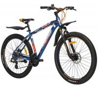 "Велосипед алюминий Premier Tsunami 27 Disc 18"" Neon Blue"