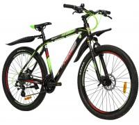 "Велосипед алюминий Premier Tsunami 27 Disc 20"" Black - Green - Red"