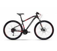 "Велосипед Haibike SEET HardNine 3.0 29"", рама 55 см, 2017, черный"