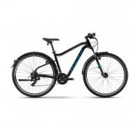 "Велосипед Haibike SEET HardSeven 1.5 Street Tourney 27,5"", рама L, черно-сине-титановый, 2020"