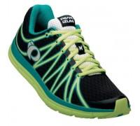 Взуття для бігу жіноче Pearl Izumi W EM ROAD M2 чорний/зелений EU38.5