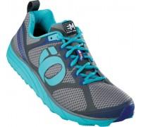Взуття для бігу жіноче Pearl Izumi W EM Trail M2 сірий/блакитний EU38.5