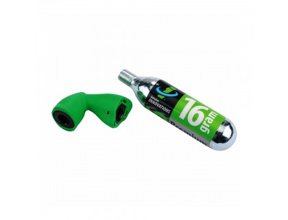 Балон CO2 (16гр) + клапан, Genuine Innovation | Veloparts