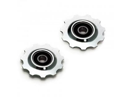 Ролики заднего переключателя XLC, серебристые | Veloparts