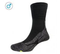 Шкарпетки чоловічі P.A.C. Trekking Classic Wool чорний 44-47