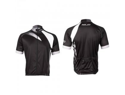 Велофутболка XLC JE-S11, L, черно-белая | Veloparts