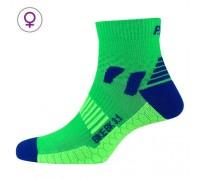Шкарпетки жіночі P.A.C. BK 3.1 Bike Cool Women зелений/синій 35-37