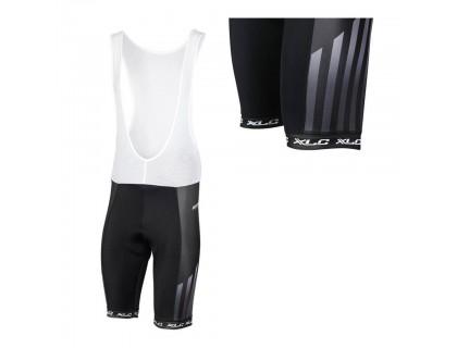 Велошорты с лямками XLC TR-S12, M, черно-белые | Veloparts