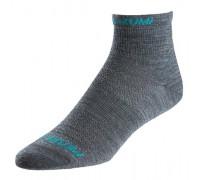 Шкарпетки жіночі Pearl Izumi Elite WOOL середні сірий M